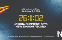 NEWS PODCAST at NOON - Oct 8 Cheptegei sets new 10,000m world record