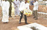 Policemen scamper into hiding as Museveni visits