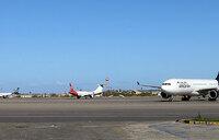 Libya capital flights suspended after deadly rocket fire