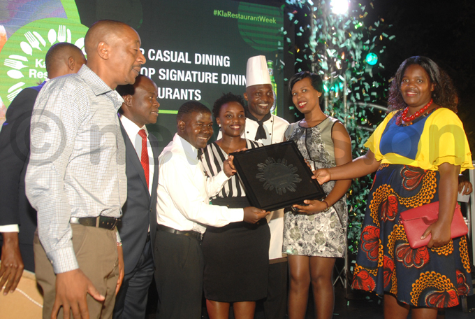 iders ounge took home the top casual dining award hoto by enis ibele
