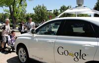 Google self-driving prototype cars hit public roads