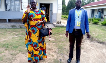Paparu lillian obiale the candidate ec declared unopposed for arua woman mp seat in arua district photo by robert ariaka 350x210