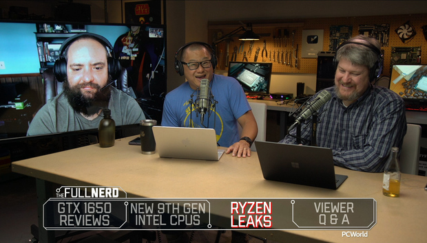 The Full Nerd ep. 92: Intel's 9th-gen CPU deluge, Ryzen 3000 leaks, GeForce GTX 1650 performance