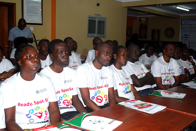 crosssection of the people that were trained in data collection and the applications usage hoto by awrence ulondo