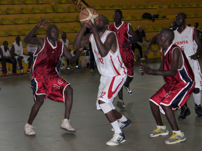 enyas aleb abaka attempts a shot during the game hoto by avid amunyala