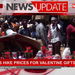 Vendors hike prices for valentine gifts