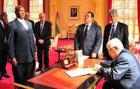 Uganda, Palestine to promote Arab-African interests