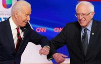 Biden-Trump showdown looms after Sanders ends presidential bid