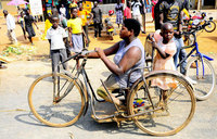 Picture of the day: A disabled woman in Kamdini
