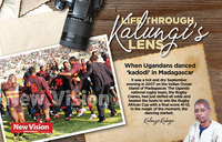 Kalungi's lens: When Ugandans danced kadodi in Madagascar
