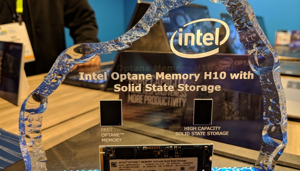 Intel's Optane Memory H10 marries super-fast Optane and SSD storage on one M.2 card