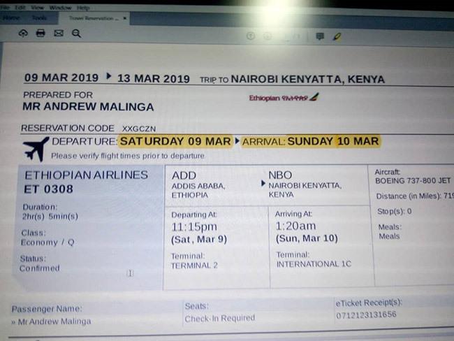 alingas final air ticket