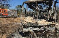 Zimbabwe bus fire kills 42: police