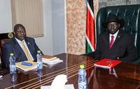 South Sudan: Machar, Kiir meet in Juba