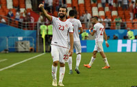 Tunisia celebrate first World Cup win for 40 years