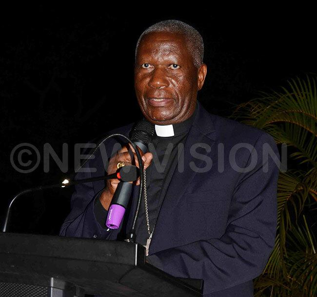 ishop ziwa delivers his speech