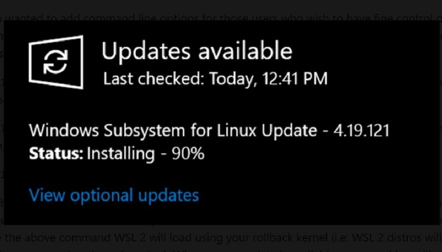 Windows 10's Linux subsystem gets GPU compute and an easier install in new preview