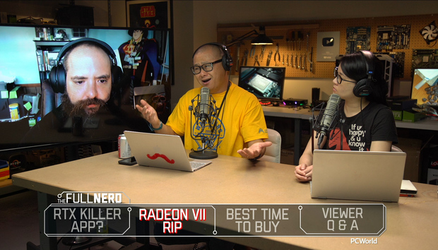 The Full Nerd ep. 104: Ray tracing's new killer app, Radeon VII's life and death, when to buy PC parts
