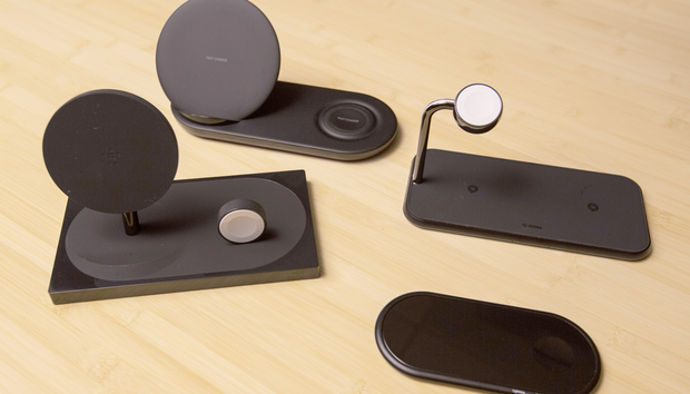 Review: 4 wireless chargers for both smartphone and watch (one of which does earbuds, too)