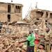 Building collapses in Buziga