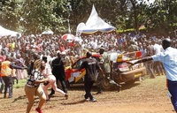 Safety concerns on day one of IUEA Jinja Rally