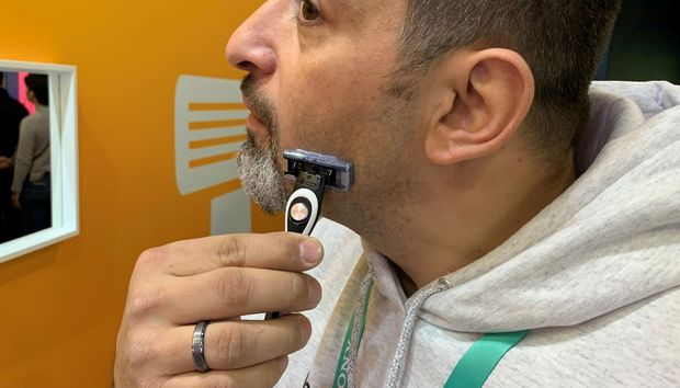 BIC's prototype Bluetooth smart razor collects data on how you shave