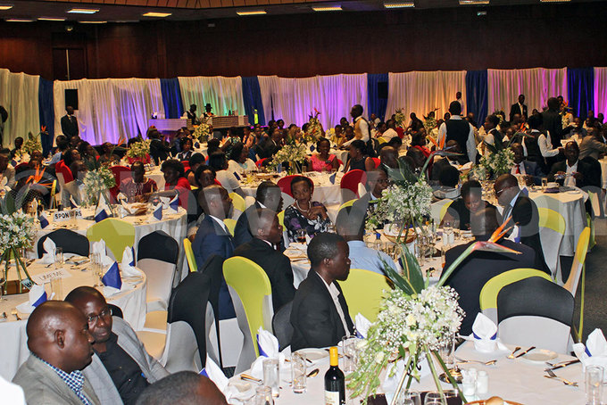 uests that attended the 14th edition of the mployer of the year wards 2017