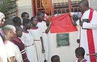 St Dennis: German, American groups build dormitories
