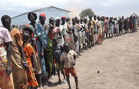 DR Congo registers 7,000 refugees arriving from South Sudan