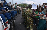 Soldier killed as Burundi hit by more protests