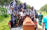 Uganda protests Rwanda killings
