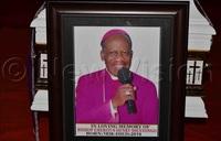 Pope Francis praises Bishop Ssentongo