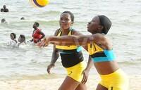 Alupo, Busingye win beach volleyball title