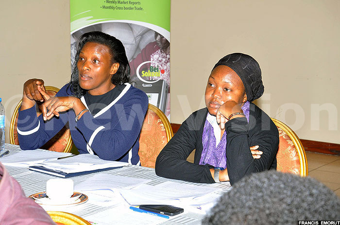 ome of the participants share their views during the consultative meeting on grains standards