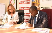 Save the children Uganda and Vision group sign sh220m newspaper deal