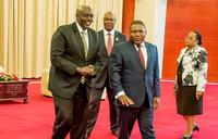 Amb. Kabonero presents credentials in Mozambique