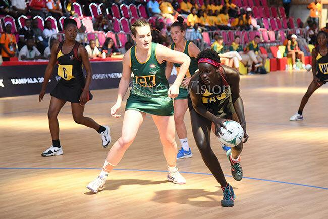 ary uba inspired gandas niversity netball team to the orld niversity etball hampionship title