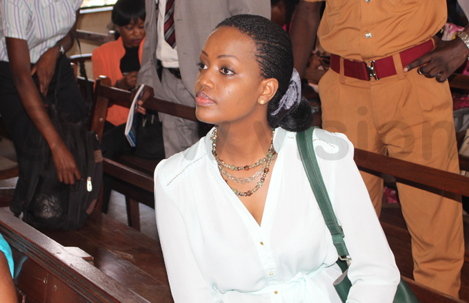 anyamunyus girlfriend ynthia unwagari who herself is out on bail looks on in court hoto by ony ujuta