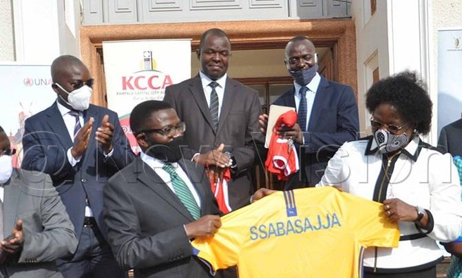 KCCA supports Buganda Kingdom in Kabaka's birthday run