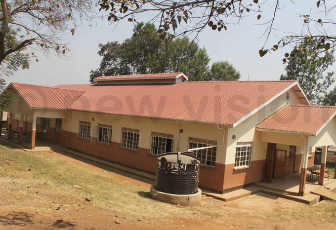 he new multipurpose hall at the school