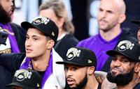 Lakers' LeBron James named NBA Finals MVP