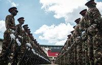Kenyatta swears in for a second term