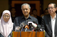 Malaysia's Mahathir gets down to work after historic poll win