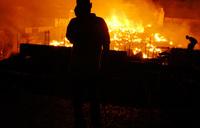 Fire guts Mbale main Market