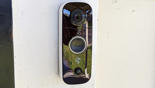 Toucan Wireless Video Doorbell review: This camera's wide field of view can survey all your porch