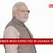 Indian premier Modi visits Uganda