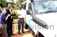 Arua Hospital gets an ambulance for refugee communities