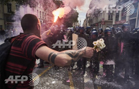 Unions vow to step up strikes in crisis-hit France