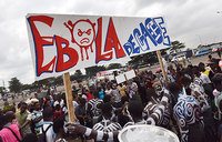 The race to deploy experimental Ebola drugs