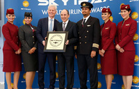 Qatar Airways wins best global business class